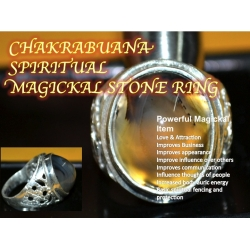 Chakrabuana Talisman Amulet Furious Power Ring
