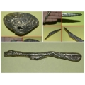 Rare Balinese Find Three Yellow Steel Materialized Items A Collectors Set (3 for the price of 1)