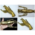 Khodamic Bronze Lobster Materialized Item Wealth Protection Anti Black Magick Spirit Talisman