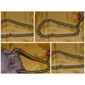 Khodamic Yellow Steel Mystical Allow Tasbih Inserted Khodam by Ustaz