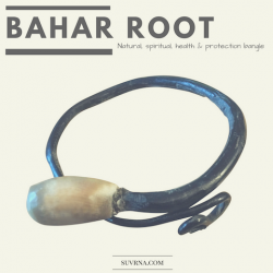 Latest Bahar Root Health Protection Wealth Natural Bracelet, Nature's talisman amulet, small, Non Khodamic