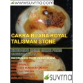 Khodamic Cakra Buana Royal Protection & Prosperity Talisman Stone