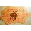 Islamic Paper Deer Talisman Tilasim Khadamic 4 prosperity & protection frm Black Magick (order now)