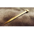 Islamic Islam talisman Muslim Golden Nail for wealth attraction & protection. Wealth Protection Talisman. 1pc ONLY.