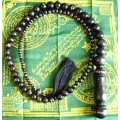 Khodamic Stigi Wood Tasbih (Rosary) Khodam Inserted